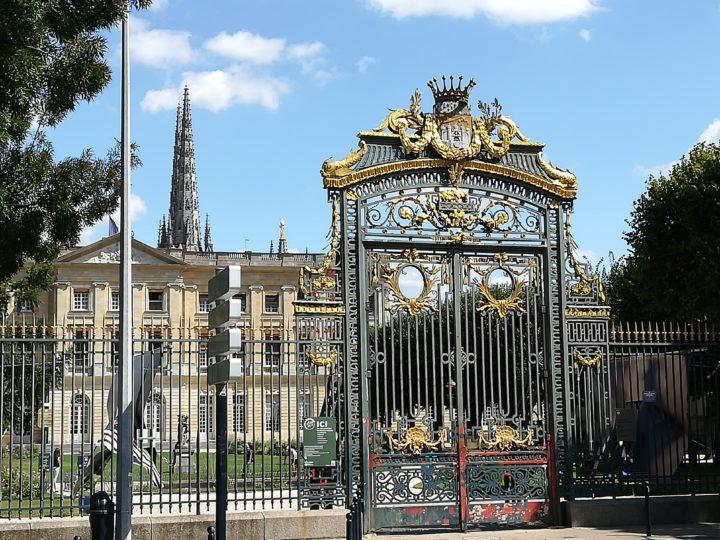Jardin de la mairie de Bordeaux