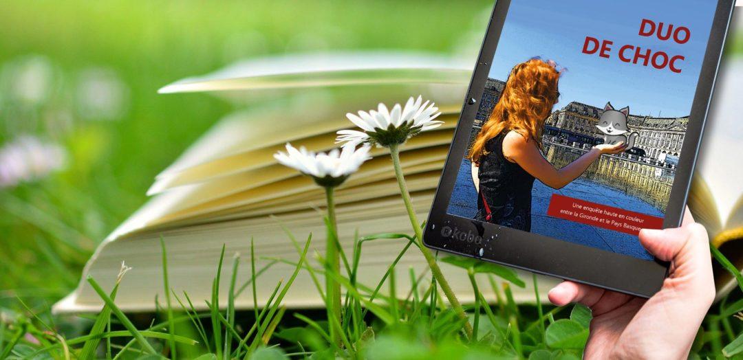 DUO DE CHOC est désormais disponible sur 200 librairies en ligne
